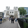 Entrance to the Tower of London.