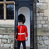 A guard  at The Tower of London.