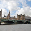 The Palace of Westminster (Parliament), Big Ben and Westminster Bridge.