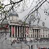 The National Gallery at Trafalgar Square.
