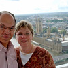 Ray and Jean on the London Eye.