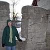 Jean Finkleman at the Heidenheim castle.