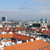 View of Vienna from atop St. Stephen's Cathedral.