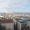 View of Vienna from atop the St. Stephen's Cathedral.