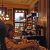 The counter at Demel's Cafe.