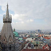 A view of Vienna from St. Stephen's Cathedral.
