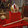 The Imperial Crown, Sceptre and Orb.