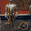 Armor belonging to Maximilian II at the Hofburg Palace Armory Museum.