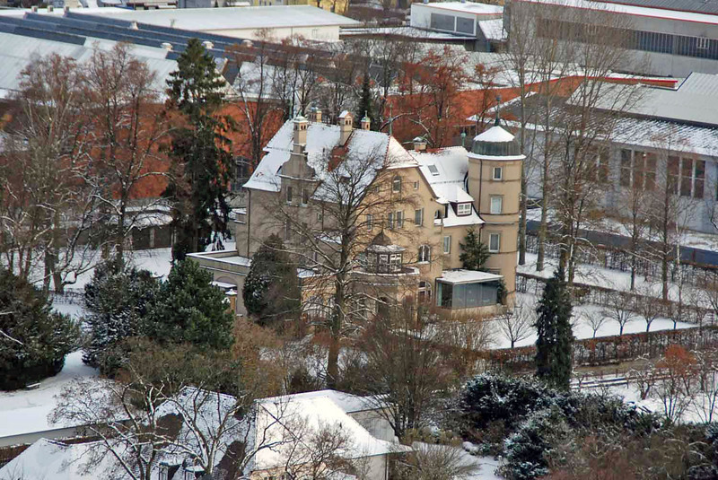 View of Heidenheim from the castle.