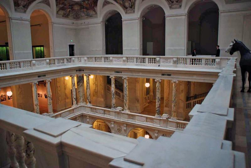 The atrium at the Amory Museum, Hofburg Palace.