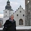 Raymond Finkleman at the Heidenheim castle.
