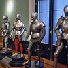 Weapons and armor on display in the Armory Museum.