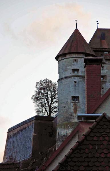 A view of the Heidenheim castle.