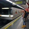 A Vienna subway platform.