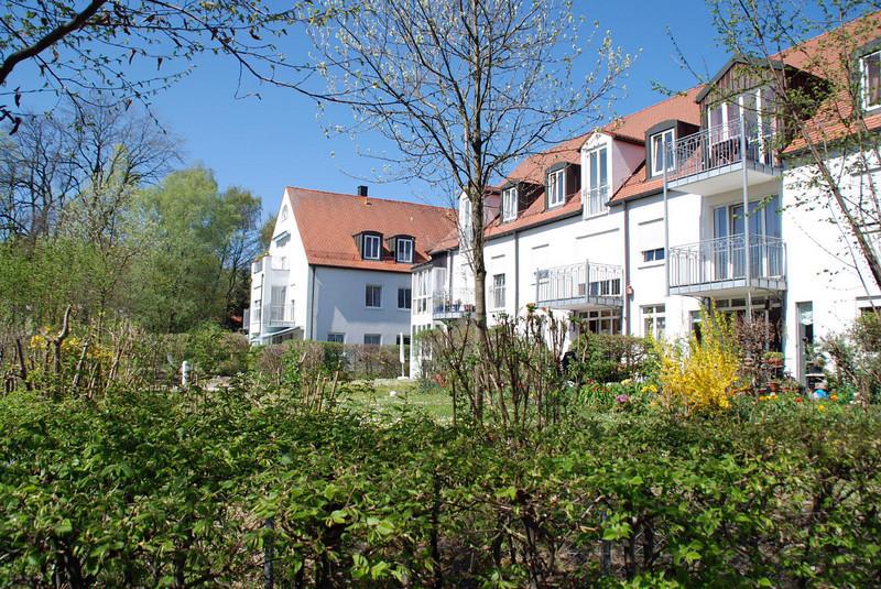 Backyards in Freising