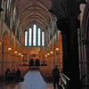 Inside Christ Church Cathedral.  Construction started in the year 1030.