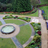The garden at Belfast Castle.