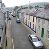 The small town of Carnlough Harbor, Northern Ireland.