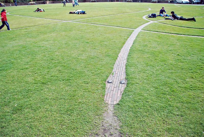 The only snake in Ireland is in the garden of Dublin Castle.