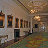 The dining room (picture gallery) at Dublin Castle.