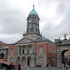 The clock tower at Dublin Castle.