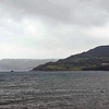A view of the North Sea from Carnlough Harbour.