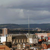 The Spire of Hope at Belfast Cathedral.