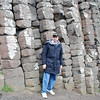 Raymond Finkleman at the Giant's Causeway.