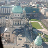 Belfast City Hall seen from the Big Wheel.