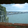 A view of Belfast Lough from Carrickfergus Castle.