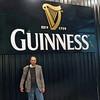 Raymond Finkleman at the Guinness Storehouse.