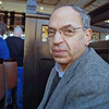 Ray Finkleman inside Ronnie Drews Bar (formerly Magennis' Bar) where we stopped for Irish coffees and watched the Grand National Steeplechase.