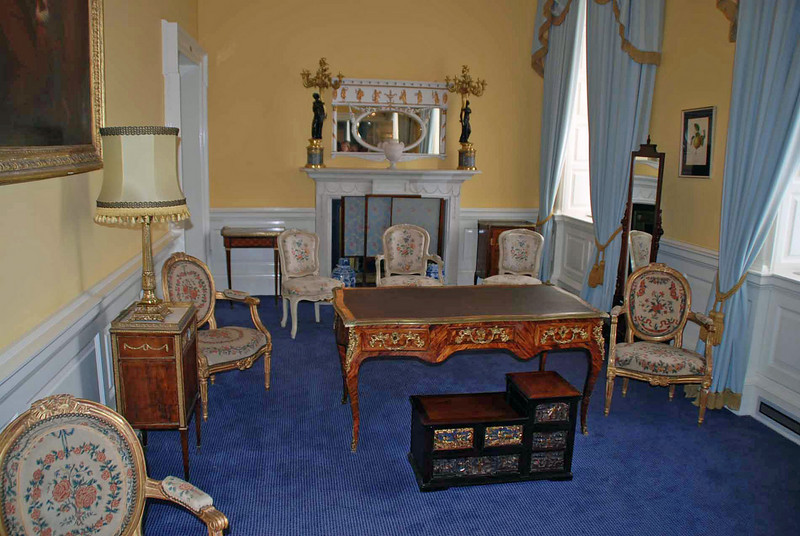 The Yellow Room at Dublin Castle.