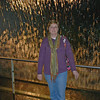 Jean Finkleman in front of the water display at Guinness Storehouse.