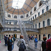 The Victorian Main Hall of the Kilmainham Gaol.