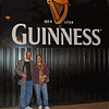 Raymond and Jean Finkleman at the Guinness Storehouse.