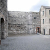 A prison yard at Kilmainham Gaol.