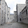 An exercise yard at Kilmainham Gaol.