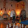 The great room in Carrickfergus Castle.