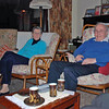 Beno and Shealagh Moiseiwitsch, parents of Julian and grandparents of Nina Moiseiwitsch.  We had a nice dinner at their home in Belfast.