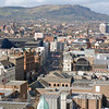 Belfast seen from atop the Big Wheel.