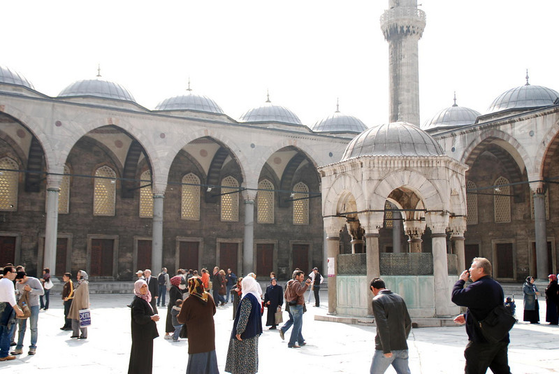 Grounds of the Blue Mosque