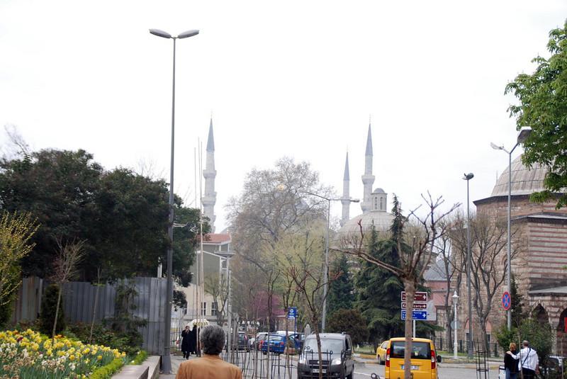 On the way to Topkapı Palace