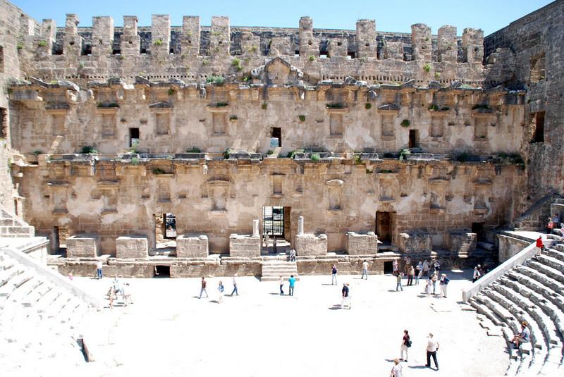 Aspendos Roman Amphitheater, ca 160 AD
