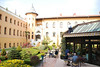 The courtyard at the Four Seasons, Istanbul