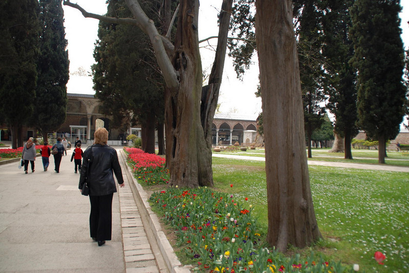 The grounds at the Topkapi Palace