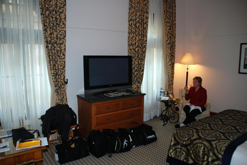 Our room at the Four Seasons, Istanbul