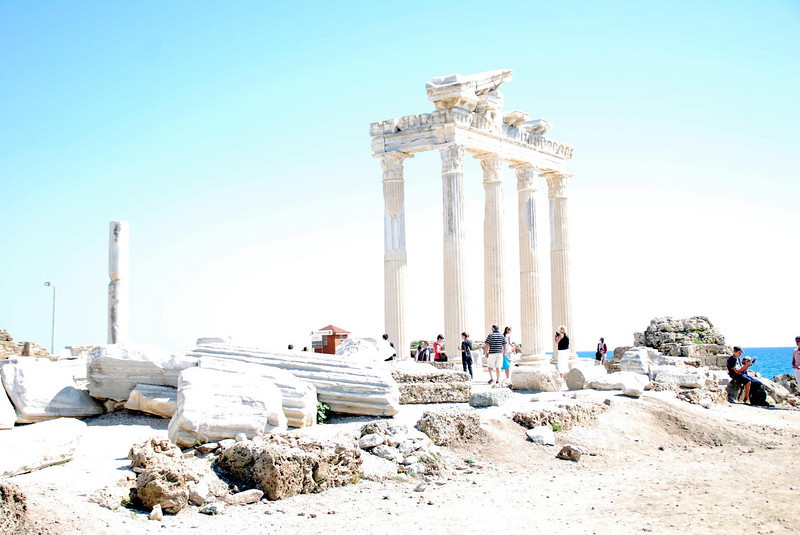 The Temple of Apollo, Side, Turkey