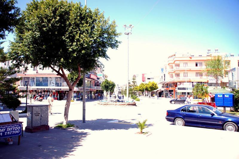Downtown Belek, Turkey (off season)