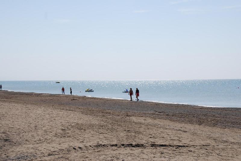 The beach at the Maritim Pine Beach Resort